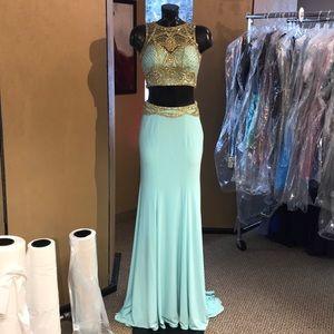 Alyce Paris Prom Two Piece Size 2